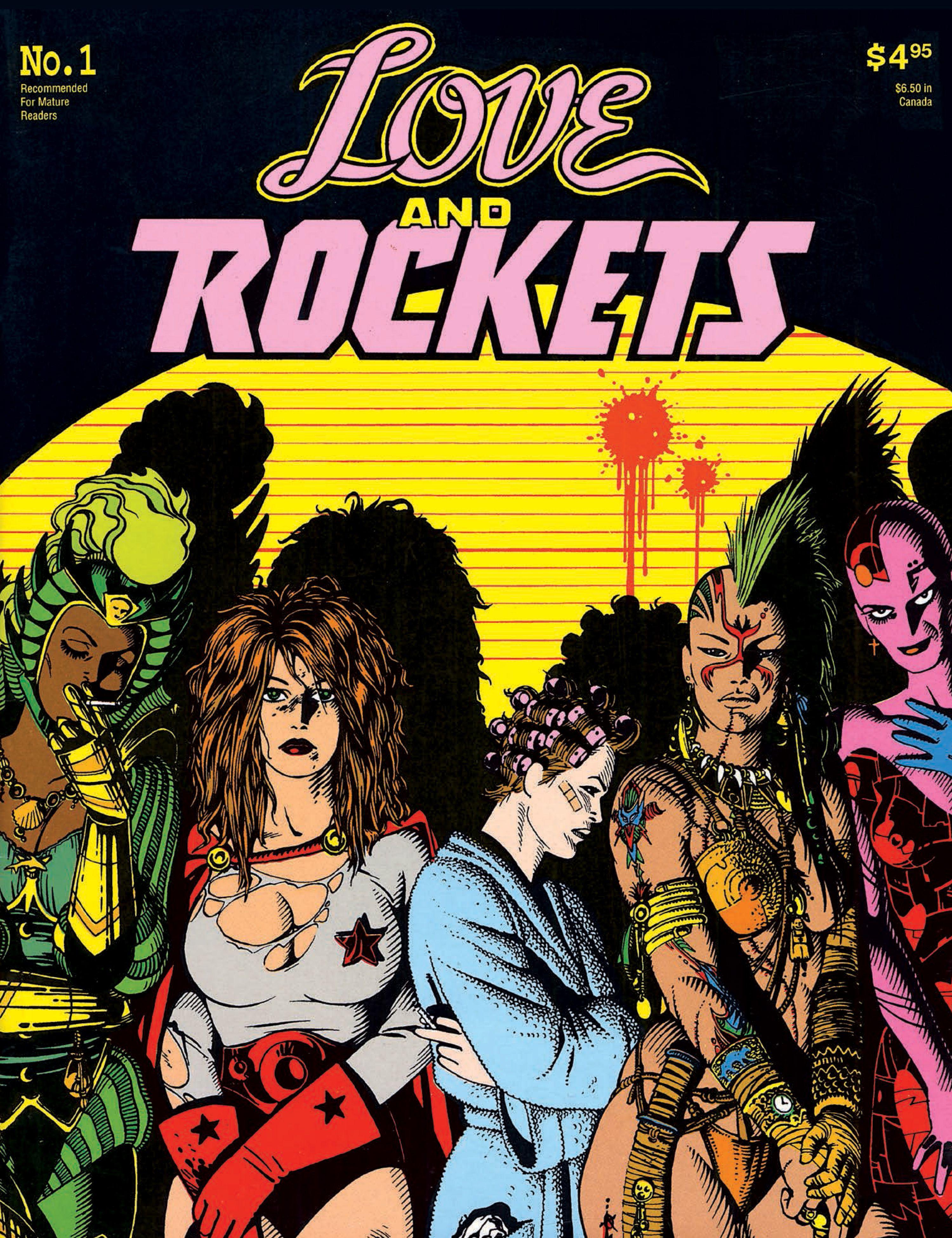 Los Bros Hernandez Love And Rockets